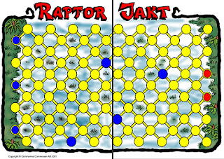 Raptor Jakt. Board