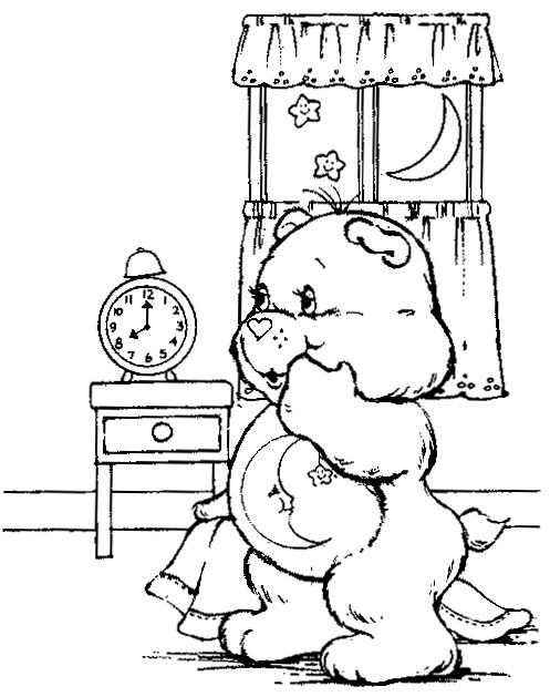 Care Bears Coloring 16 title=