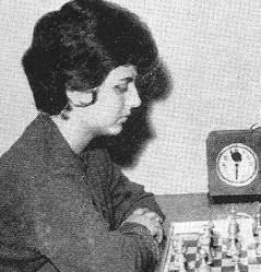La ajedrecista María Luisa Puget
