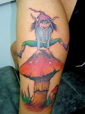 Tatuagem de Duende