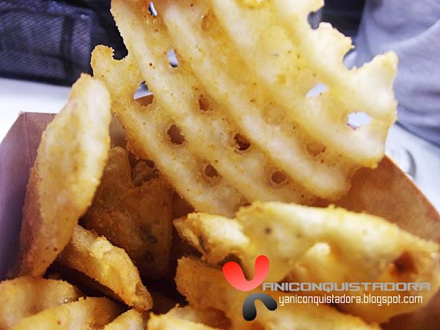 Jollibee Zesty Cheese Crisscut Fries and Savory Barbecue Crisscut Fries