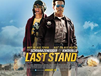 Se ve a Arnold Schwarzenegger y Johnny Knoxville