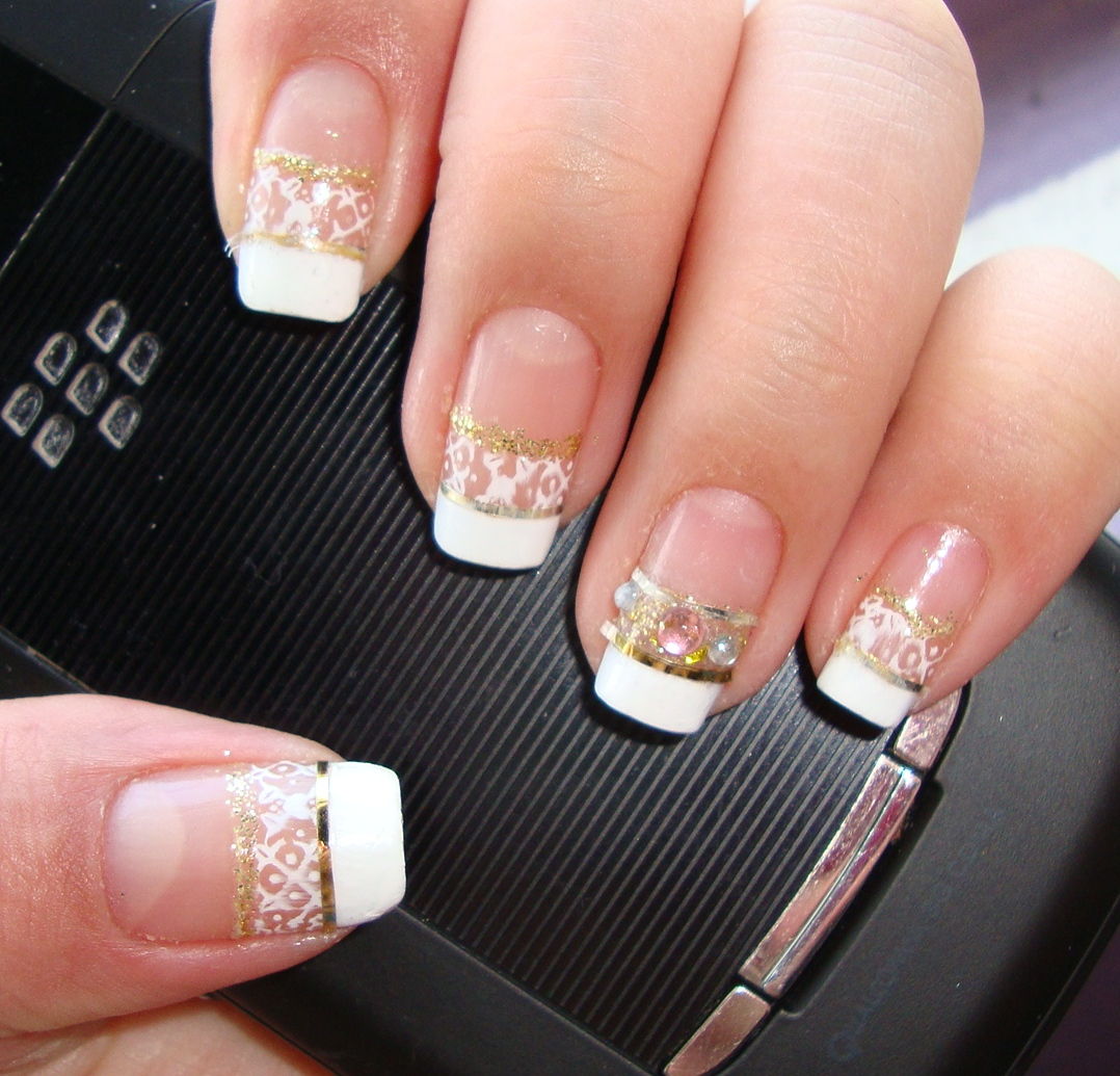 French tip with a Classic Twist- Nail of the Day (Notd ...