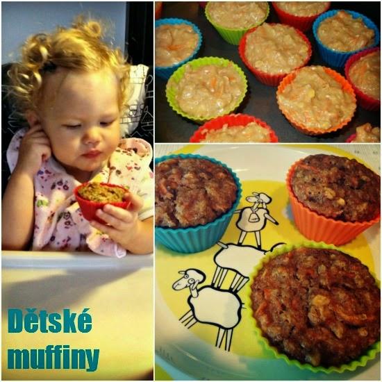 Zdravé muffiny pro děti