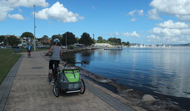 Gosford waterfront cycle/walking path