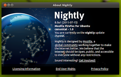 Install Firefox 8 in Ubuntu via PPA