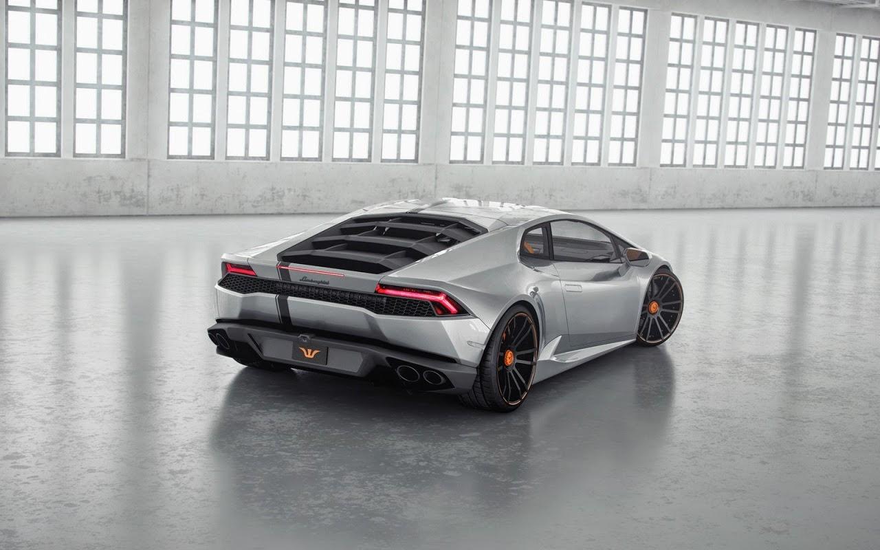 La Lamborghini LP850 Huracan Lucifero Tunée