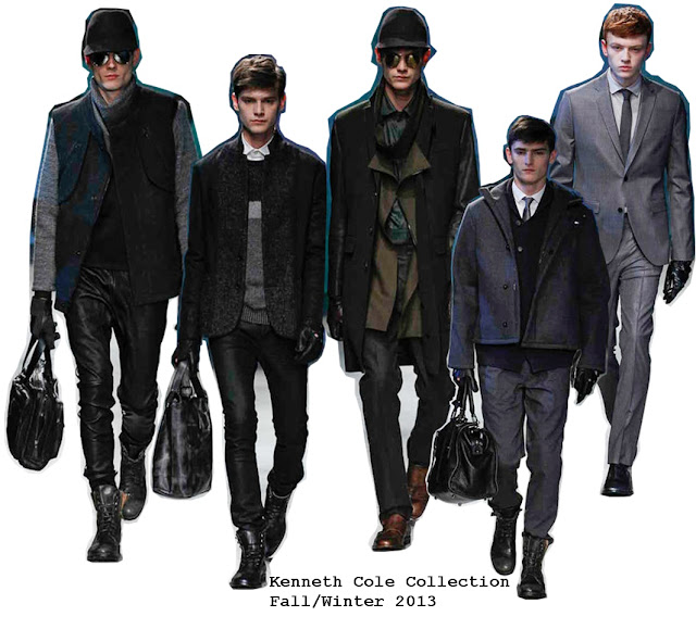 Kenneth Cole Fall/Winter 2013 Men's Collection