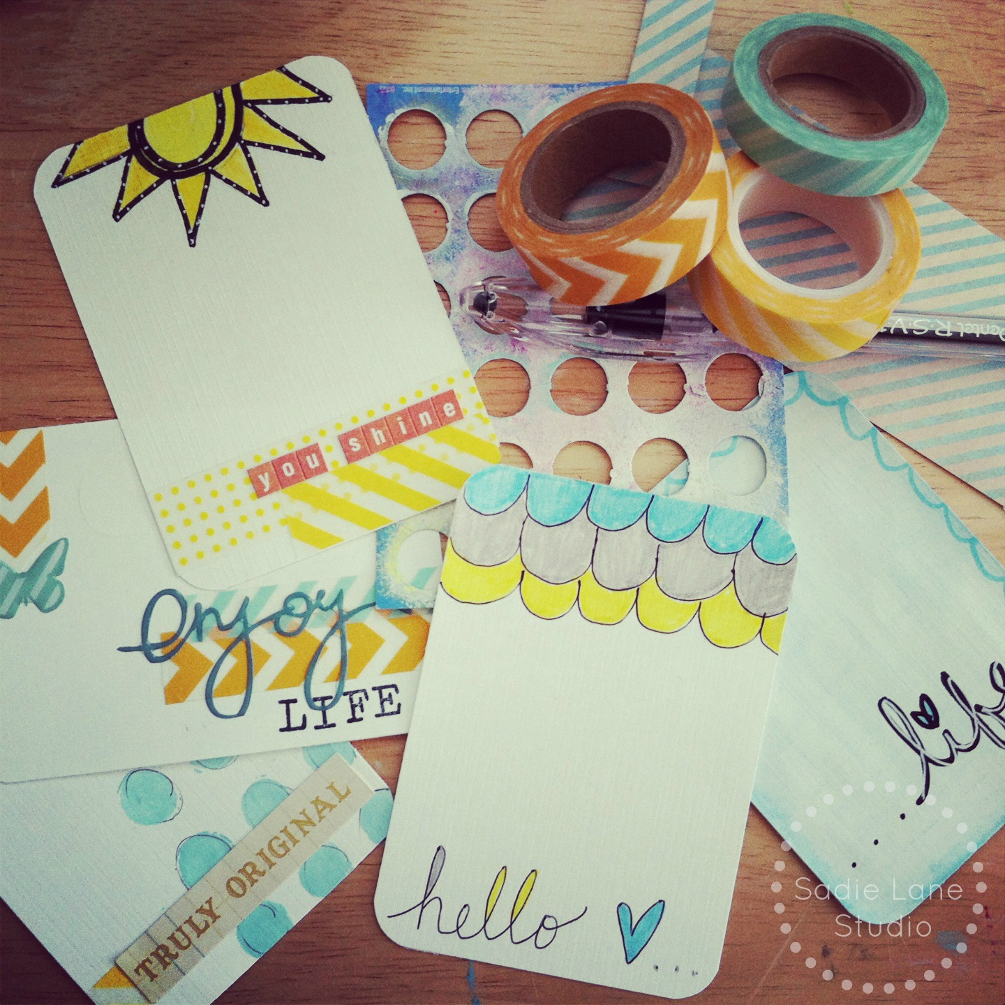 Scrapbook journaling ideas