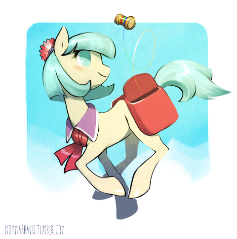 Coco Pommel and the Rainbow Spool