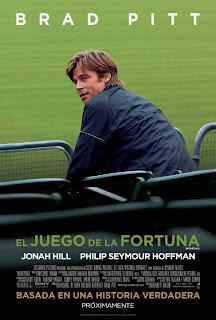 El Juego de la Fortuna / Moneyball: Rompiendo las Reglas Poster