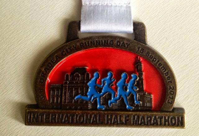 Oradea City Running Day 2013 Medalie