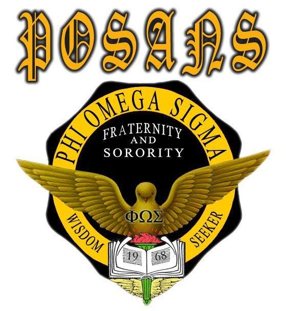 phi omega sigma fraternity and sorority january 2012