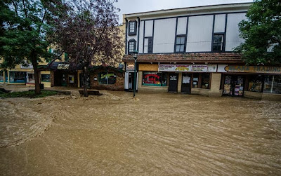 Get Well, Colorado! Blake Trading, Estes Park Colorado. 2013 Colorado floods www.thebrighterwriter.blogspot.com #ColoradoStrong #EstesPark #coloradofloods #2013coloradofloods #Mountainstrong