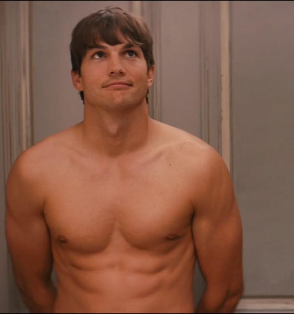 Ashton Kutcher Shirtless