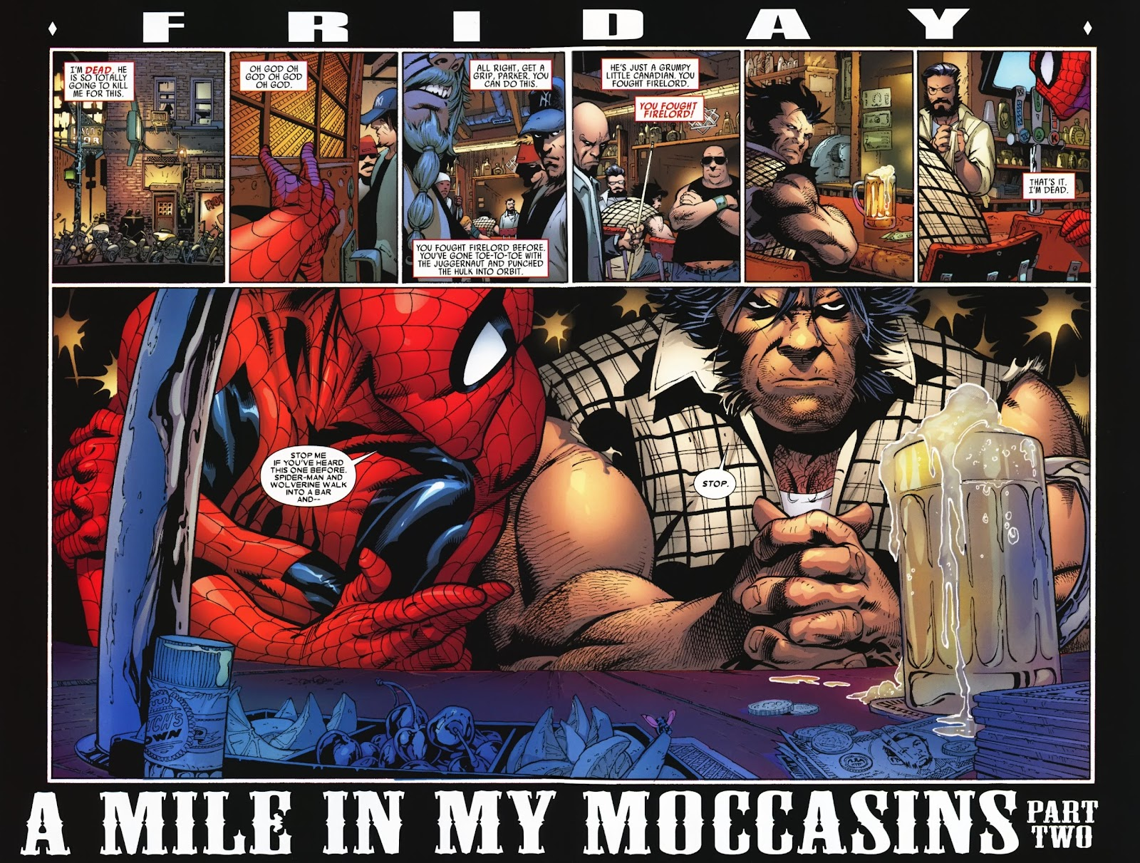 Read online Wolverine (2003) comic -  Issue #74 - 16