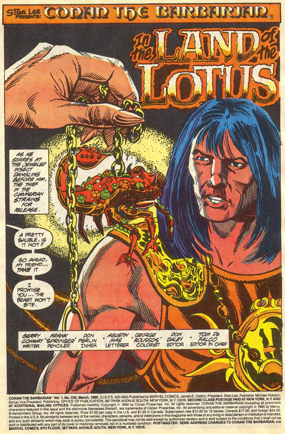 Conan the Barbarian (1970) Issue #230 #242 - English 2