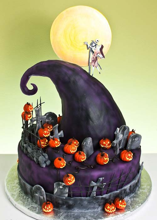 Cake birthday ideas cake birthday party cake birthday cartoon cake birthda - Idees deco halloween ...