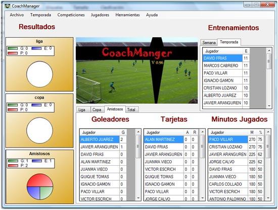 Programa para Entrenadores V 1.1 (Agosto 2012)