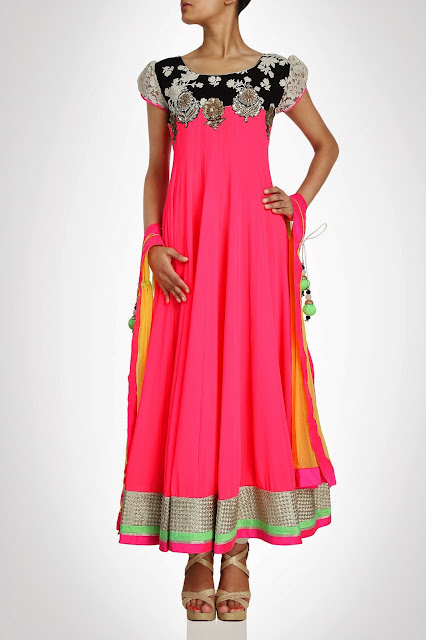 Kiran&ampShruti Akshindianfrockstyledresses 10  - Indian Frock Style Dresses Collection