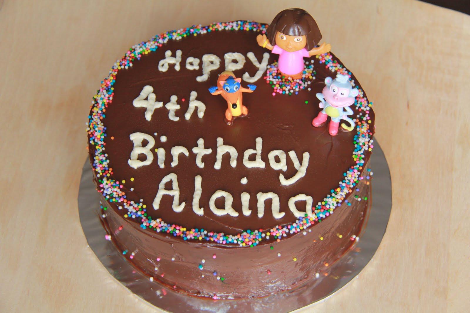 Simple Indulgence Dora Awfully Chocolate Cake