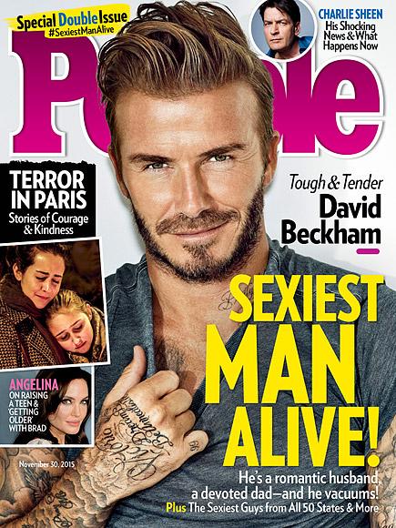 Beckham Sexiest Man Alive