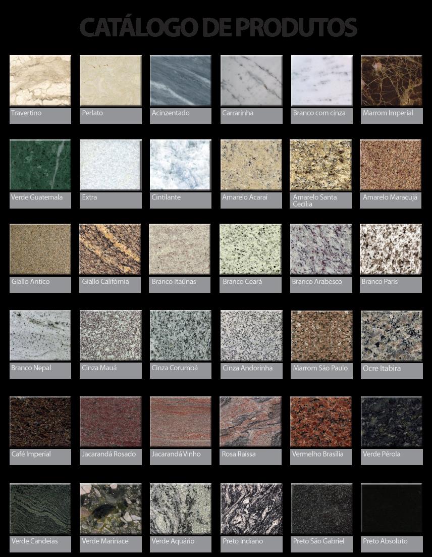 Felcon marmoraria for Catalogo de marmoles y granitos