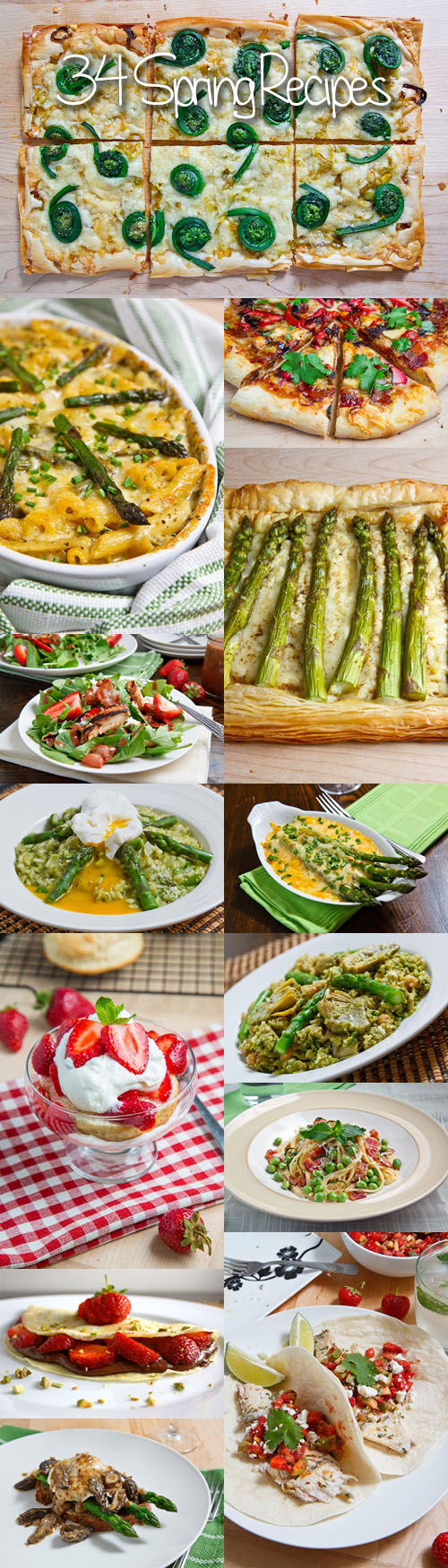 34 Spring Recipes