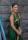 Actress Hari Priya Photos in Green saree