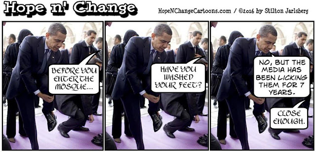 obama, obama jokes, political, humor, cartoon, conservative, hope n' change, hope and change, stilton jarlsberg, mosque, baltimore, islam