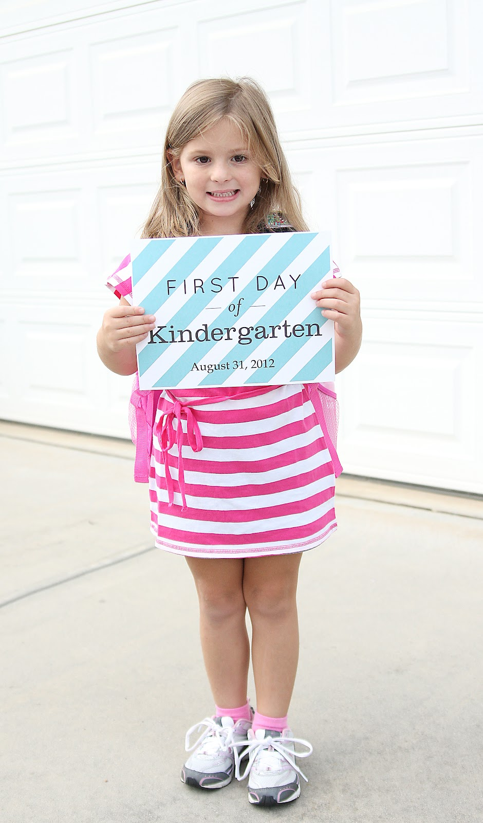officially the mom to a kindergartener