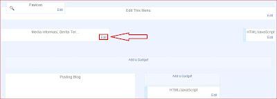 Cara memasang gambar di sebelah kanan header template