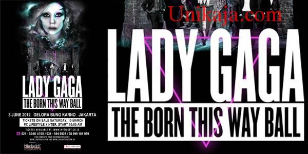 Konser Lady Gaga di Jakarta