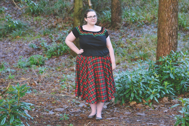 Vintage clothing plus size