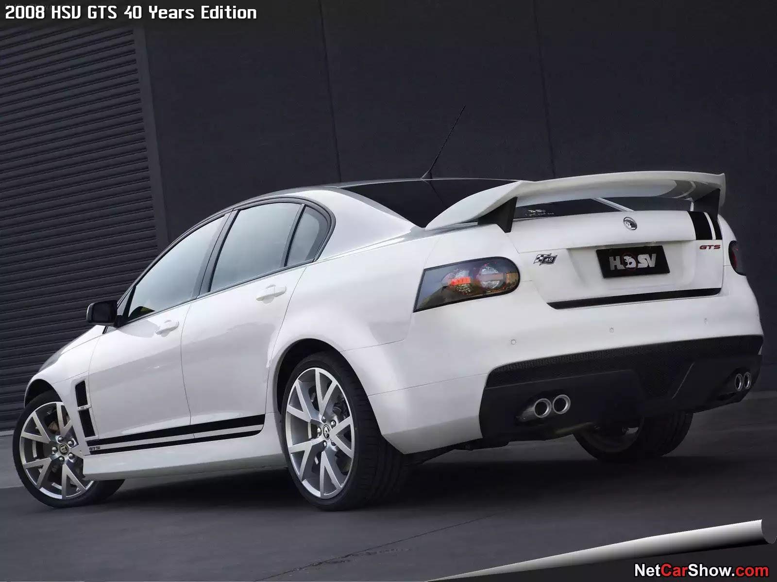 Hình ảnh xe ô tô HSV GTS 40 Years Edition 2008 & nội ngoại thất