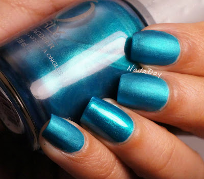 NailaDay: Orly It's Up to Blue Mattified