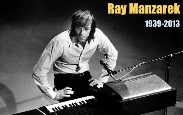 Ray Manzarek (1939-2013) con The Doors