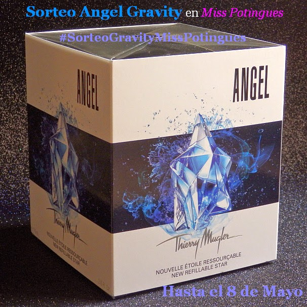 Sorteo angel gravity en Miss Potingues