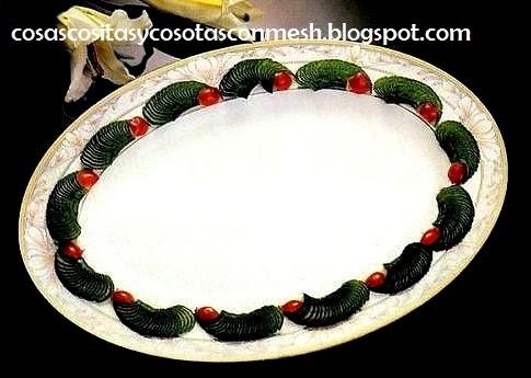 Como decorar un plato de comida con pepinos cositasconmesh for Decoracion de comida