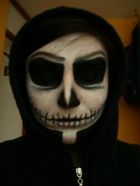 jack nightmare before christmas makeup - photo #13