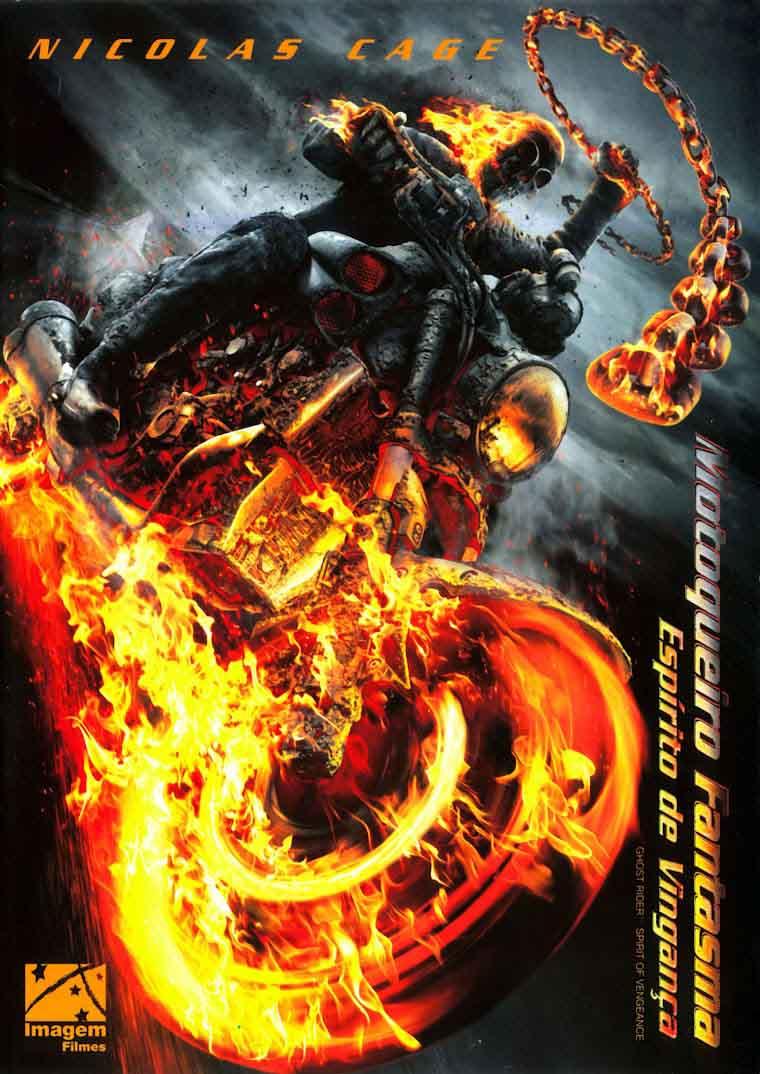 Motoqueiro Fantasma: Espírito de Vingança 3D Torrent - Blu-ray Rip 1080p Dual Áudio (2012)