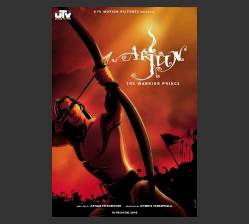 Warriors Come Out And Play Movie Cast: Arjun The Warrior Prince, Hindi Bollywood 2D Animation