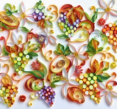 17-Quilling Portraits Russian Yulia Brodskaya Advertising -www-designstack-co
