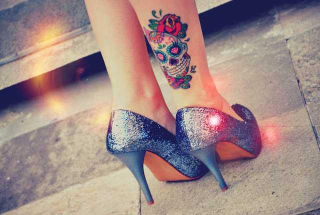 tatuaje de calavera mexicana