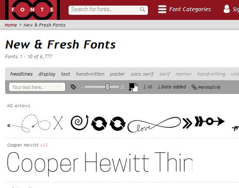 Kumpulan Font Metal