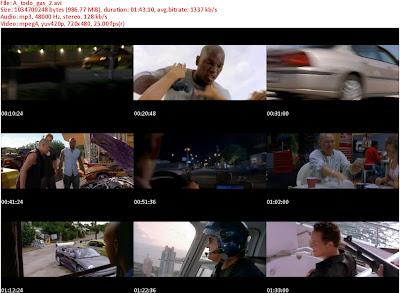 A todo gas 2 s Rapido y Furioso 2 [2003] [Dvrip] [Español]