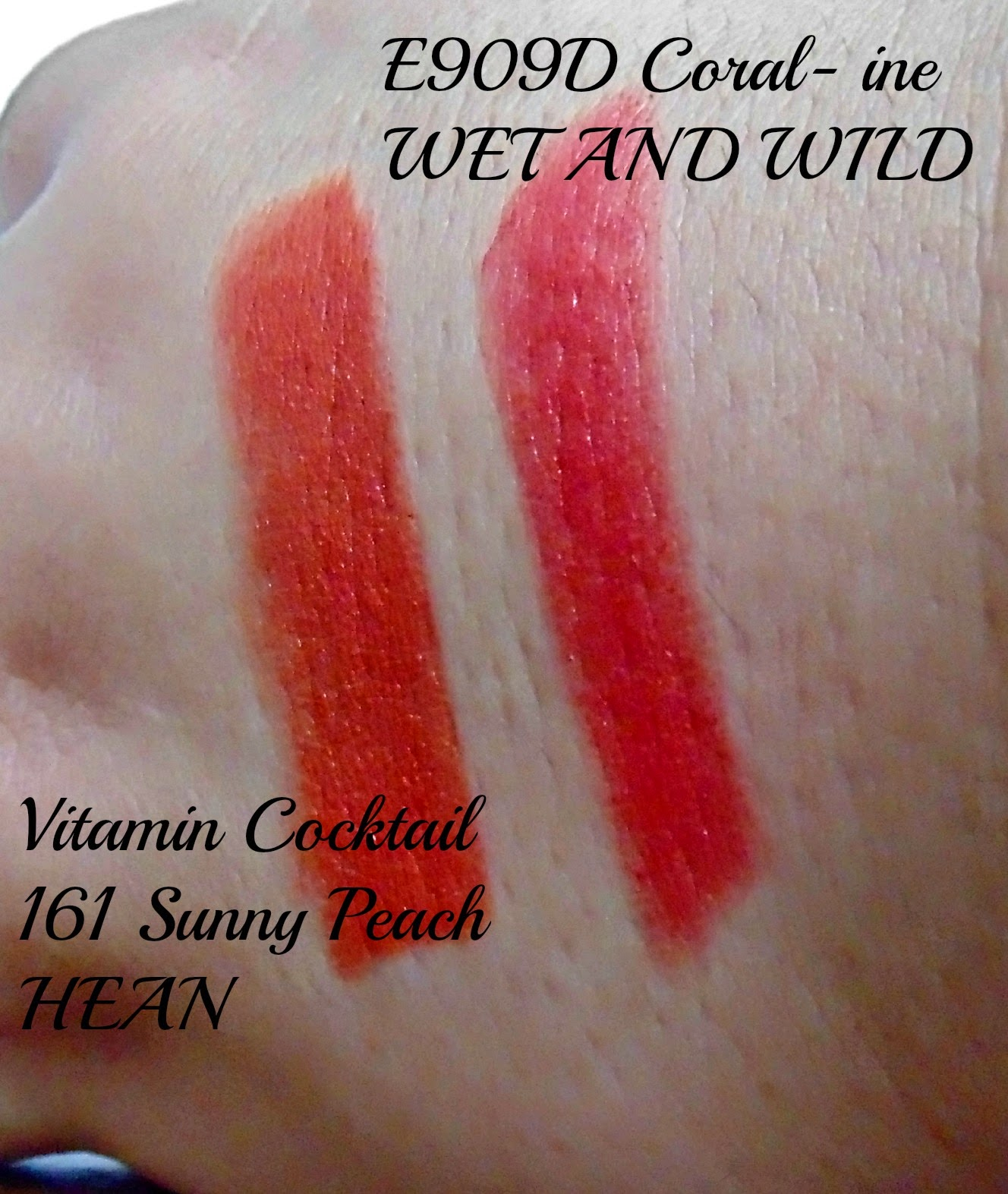 Wet and Wild coral-ine y Hean