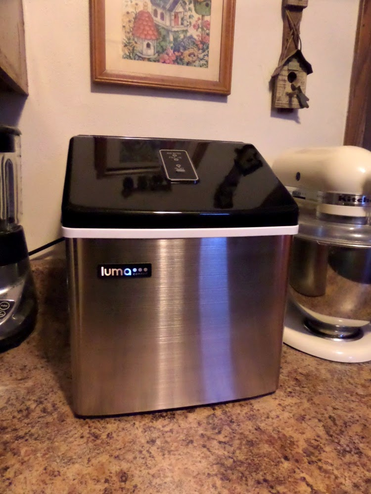 Run Out of Ice Again ? Luma Comfort IM200SS Portable Clear Ice Maker ...