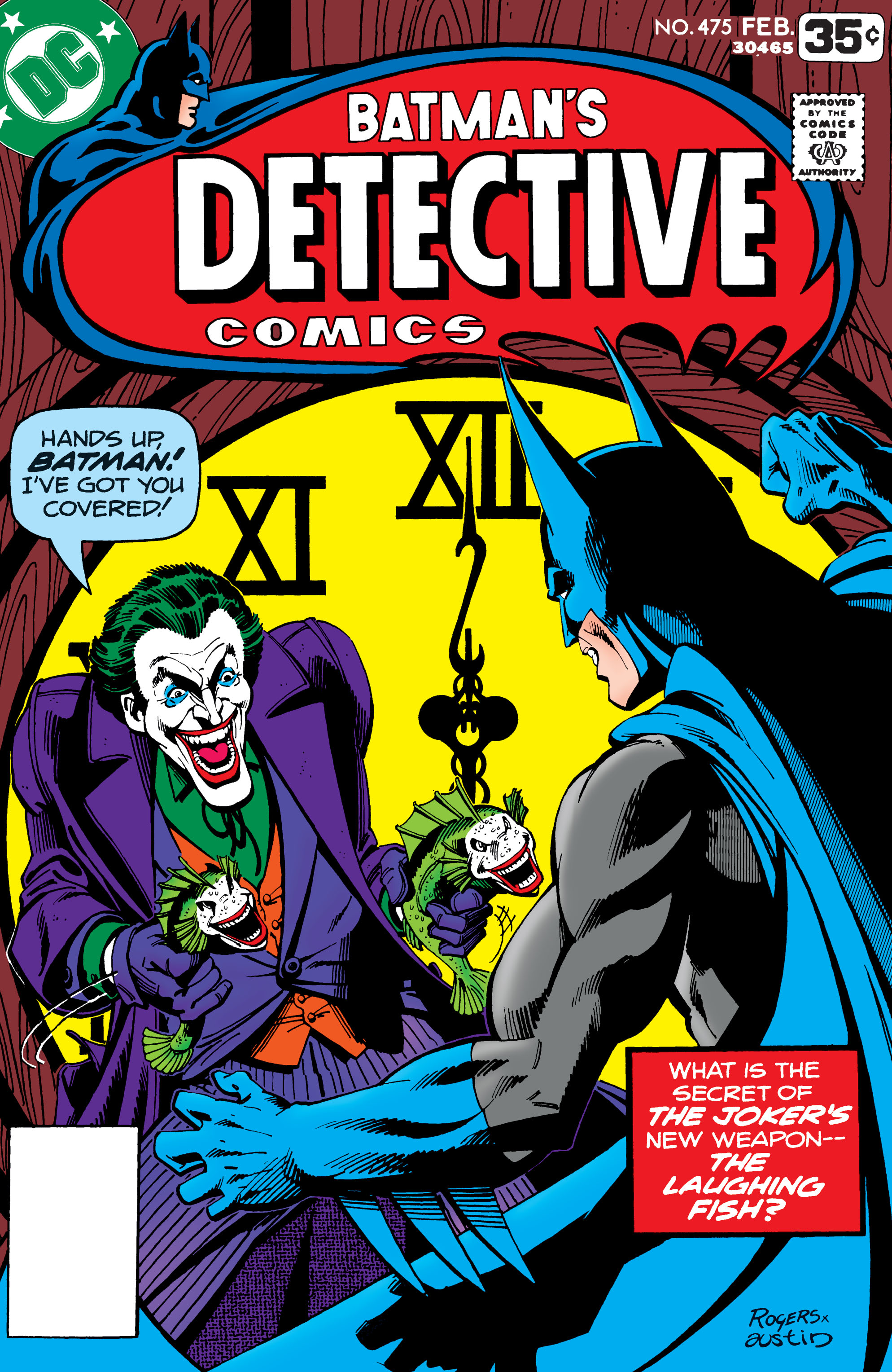 Detective Comics (1937) Issue #475 Page 1
