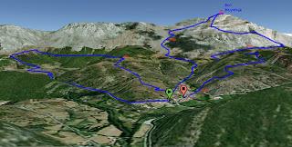 carrera de montaña Villalfeide Polvoreda